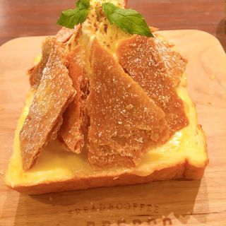 アップルカスタードパイトースト(LeBRESSO名古屋矢場町店)