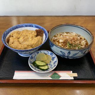 カツ丼ランチ(きしめん)(一八うどん )