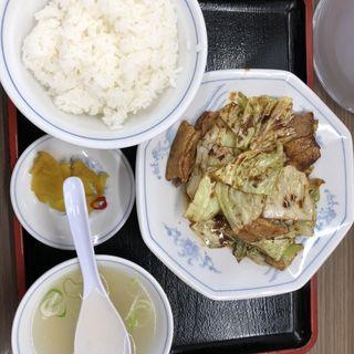 回鍋肉定食(福しん バス通り店 )