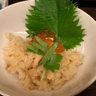 鮭イクラ釜飯(銀兵衛 (ぎんべえ))