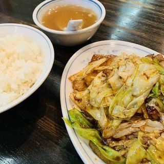回鍋肉定食(福来軒)