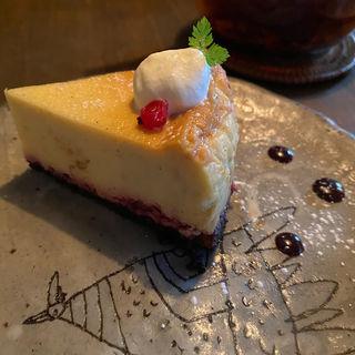 ブルーベリー ベイクドチーズケーキ(CAFE KESHiPEARL(カフェケシパール))