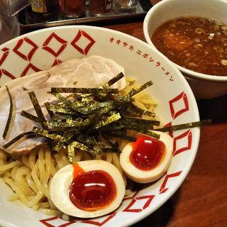 煮干しつけ麺(煮干しらーめん 玉五郎 四代目 鶴橋店 (にぼしらーめん たまごろう よんだいめ))