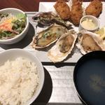 牡蠣のトリプル御膳+カキフライ1個