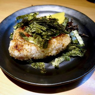 焼きおにぎり(醤油)(炭火串焼 松ちゃん )