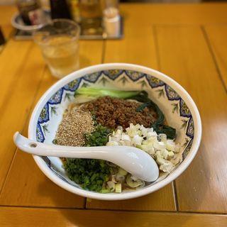 汁なし坦々麺(中国ラーメン揚州商人 クロスガーデン調布店)