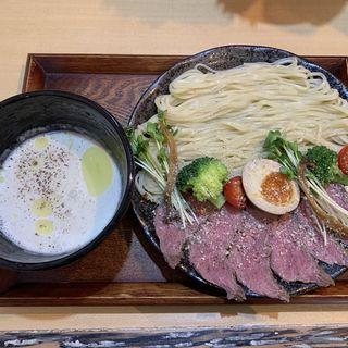 チーズフォンデュつけ麺(和ヌードル 鈴七 (スズナ))