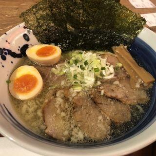 炙りチャーシュー麺(麺処 直久 秋葉原UDX店)