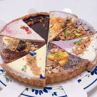 4種類のナッツとキャラメル(Maru Sankaku Shikaku)