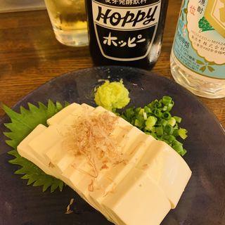 豆腐の浅漬け