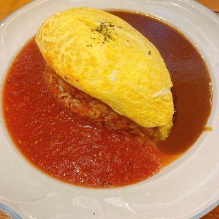 オムノッケセット (ハーフ&ハーフ)(カントリー・キッチン (Country Kitchen))