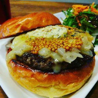 ラクレットチーズバターバーガー(Craft Burger co. 堂島店)
