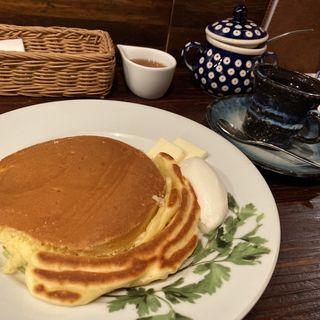 ホットケーキセット(珈琲専門店 香咲 (カサ))