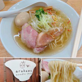 鴨だし塩ラーメン(Noodleshop arakawa)