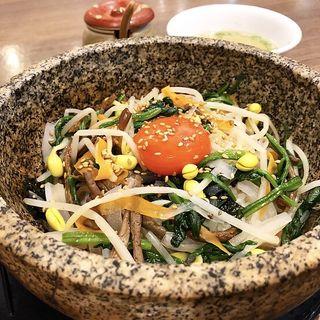 石焼ビビンバ(焼肉ホルモン・牛テール料理 あにき )
