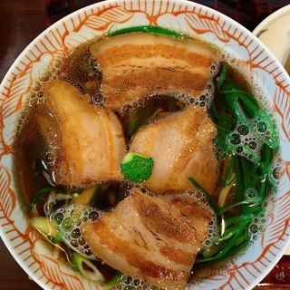 魚煮そば(そば処 宗右ヱ門 (宗右エ門 そうえもん))