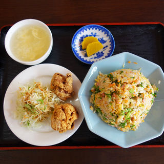 焼きめし定食(陳記饅頭(ちんきまんじゅう))