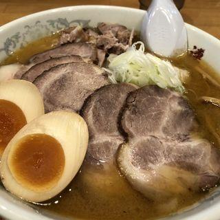 味玉味噌チャーシュー大盛(さっぽろ純連 仙台店 (じゅんれん))
