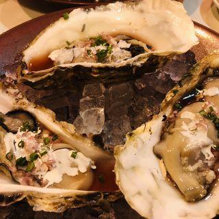 真牡蠣のマリネ フランボワーズ風味(ウィルビウス (Virbius))