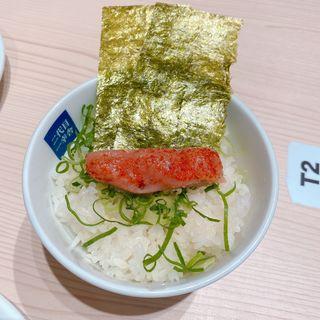 博多セット(豚骨ラーメン、明太子ご飯、餃子5個)