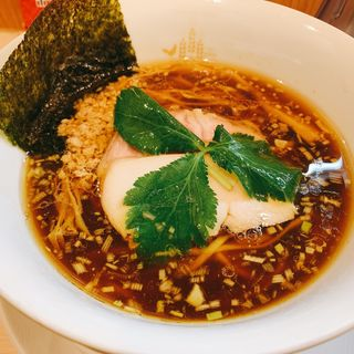 醤油鶏そば(鶏そばムタヒロ 花小金井店)