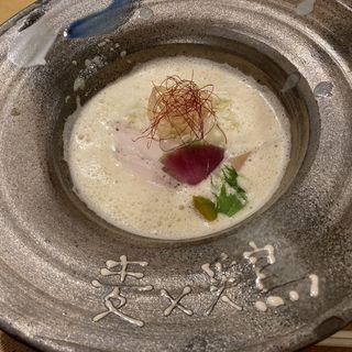 麦x雲丹(麦×鶏)