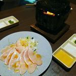 大摩桜の溶岩焼きしゃぶ