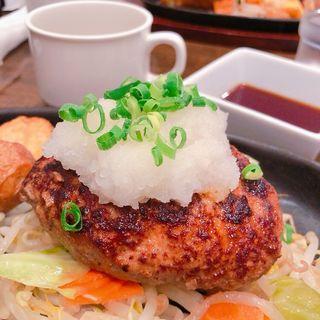 おろしハンバーグ(ぶどう亭)