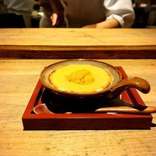 雲丹と海老出汁の味噌グラタン(創和堂-sowado-)
