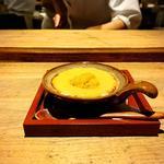 雲丹と海老出汁の味噌グラタン
