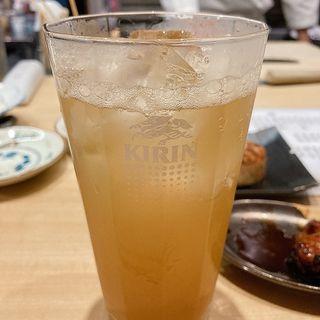 自家製ジンジャーハイボール(鶏と野菜 炭焼 久三酉)