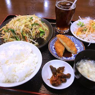 野菜炒めランチ