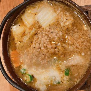 カレー雑炊 ネバネバ(雑炊と茶碗蒸しのお店太らん)