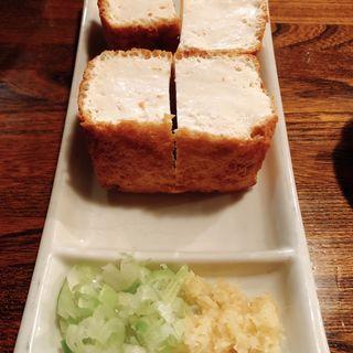 豆腐生揚(城欄 )