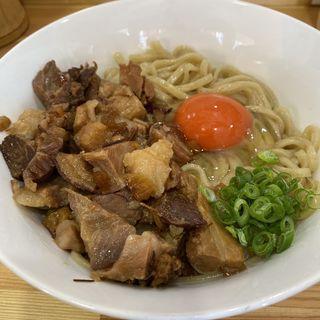 肉釜玉(桐麺 )