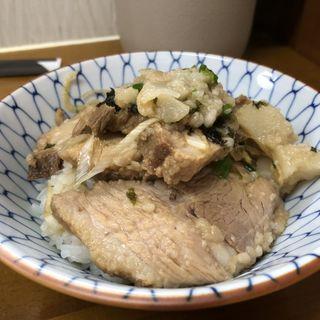 半ライス(竹末食堂 )