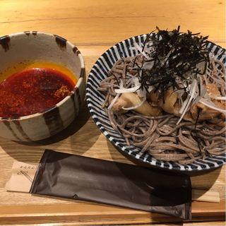 肉そば(冷やし)