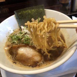 天破濃厚ブラック(鶏そば麺将 天破)