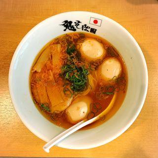 伊勢海老塩らぁ麺(鬼そば 藤谷 )