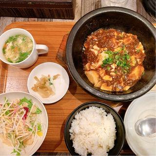 石焼麻婆豆腐定食
