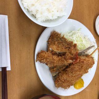 ミックスフライ定食(山家)