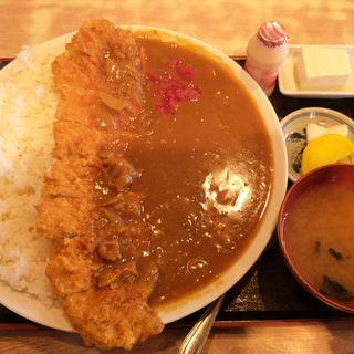 カツカレー(<民宿>しをみ食堂 )