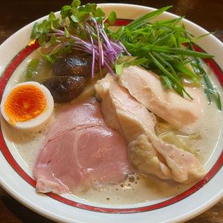 京地鶏の白湯塩そば(縁乃助商店 )