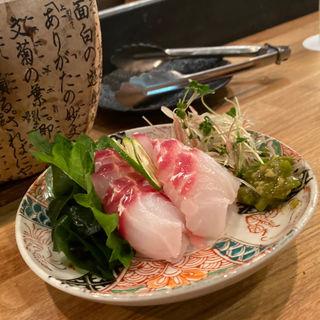鯛のお造り(87食堂)