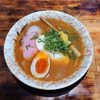 蟹の味噌ラーメン(麺屋裕)