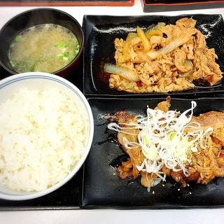 牛皿・牛カルビ定食(吉野家 中目黒駅前店 )