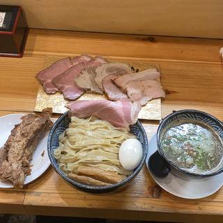 にほしょうゆつけ麺(極麺 青二犀 (ゴクメン アオニサイ))