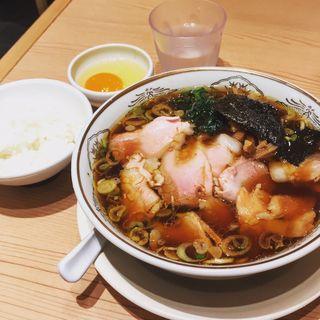 東京焼豚麺セット