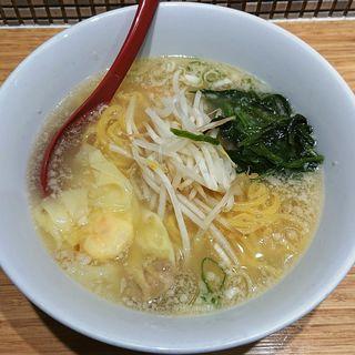 サービスわんたん麺(塩味)(雲呑好 エキュート立川店 (ワンタンハオ))