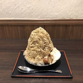 和栗とほうじ茶